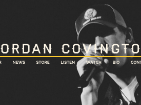 Jordan Covington Website